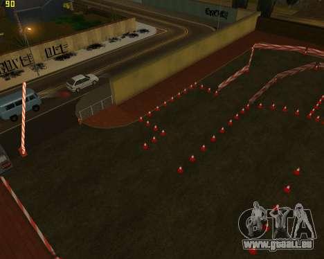 Die Schaltung, wie in der Fahrschule für GTA San Andreas dritten Screenshot