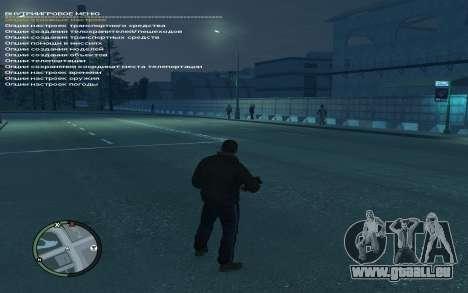Simple Native Trainer Version 6.4 RUS pour GTA 4