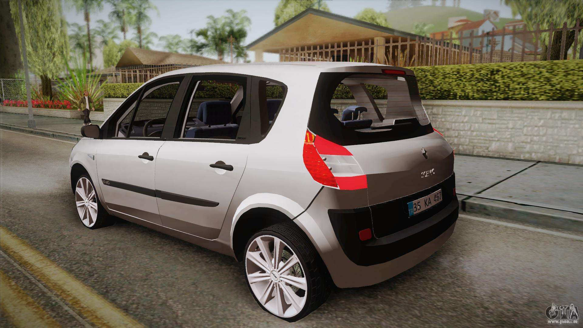 renault scenic ii pour gta san andreas. Black Bedroom Furniture Sets. Home Design Ideas