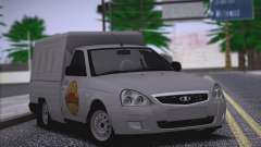 Lada Priora Budka pour GTA San Andreas