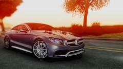 Mercedes-Benz S-Class Coupe AMG für GTA San Andreas