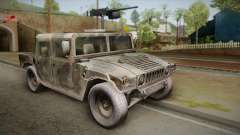 HMMWV Humvee Woodland pour GTA San Andreas