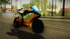 Rainbow Motorcycle