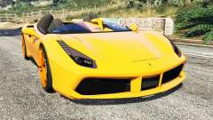Ferrari 488 Speedster 2016 [replace]