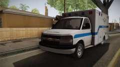 Chevrolet Express 2011 Ambulance für GTA San Andreas