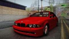 BMW 530d E39 Red Black