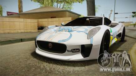 Jaguar C-X75 Ika Musume Itasha für GTA San Andreas