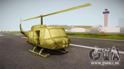 Bell UH-1H from Army Men: Serges Heroes 2 DC pour GTA San Andreas