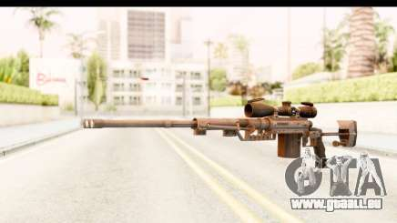 Cheytac M200 Intervention Black pour GTA San Andreas