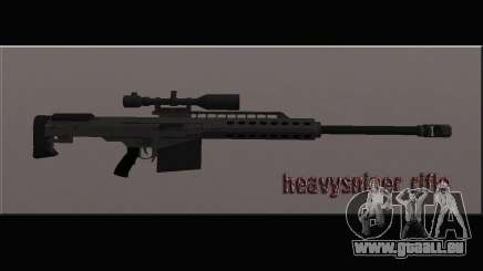 Heavysniper rifle pour GTA San Andreas