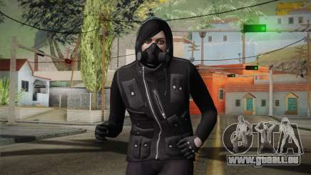 GTA 5 Heists DLC Female Skin 1 pour GTA San Andreas