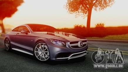 Mercedes-Benz S-Class Coupe AMG pour GTA San Andreas
