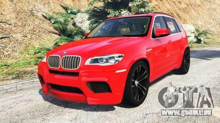 BMW X5 M (E70) 2013 v0.3 [replace] pour GTA 5