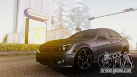 Mercedes-Benz C63 AMG w204 für GTA San Andreas