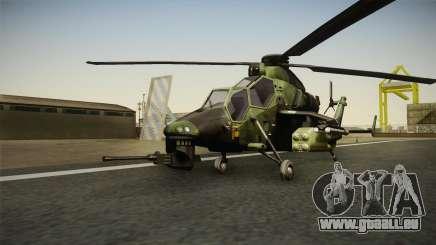 Eurocopter Tiger Extra Skin für GTA San Andreas