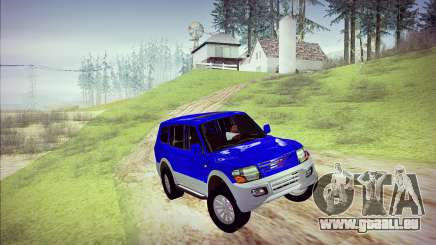 Mitsubishi Pajero 3 Beta pour GTA San Andreas