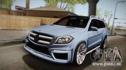 Mercedes-Benz GL63 Brabus pour GTA San Andreas