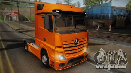 Mercedes-Benz Actros Mp4 4x2 v2.0 Steamspace pour GTA San Andreas