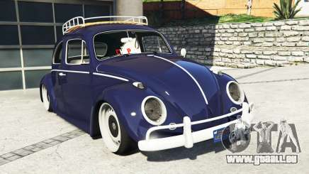 Volkswagen Fusca 1968 v0.9 [add-on] pour GTA 5