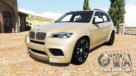 BMW X5 M (E70) 2013 v1.2 [add-on] pour GTA 5
