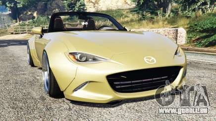 Mazda MX-5 2016 Rocket Bunny v0.1 [replace] für GTA 5