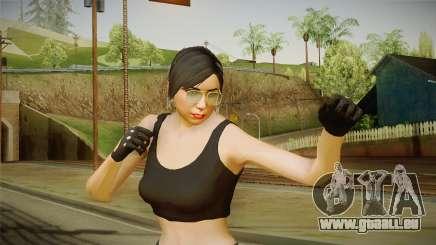 GTA 5 Heists DLC Female Skin 2 pour GTA San Andreas