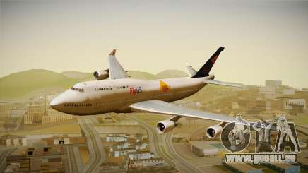 Boeing 747-400 FlyUS with NMB Logo pour GTA San Andreas