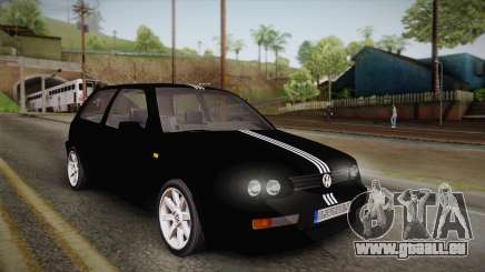 Volkswagen Golf Mk3 Blyatmobile pour GTA San Andreas