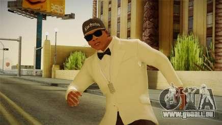 GTA 5 Franklin Tuxedo v3 pour GTA San Andreas