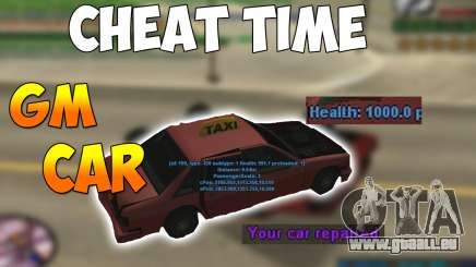 GM CAR pour GTA San Andreas