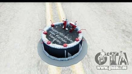 Han Farhan Cake Grenade für GTA San Andreas