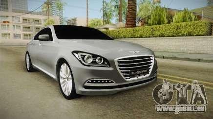 Hyundai Genesis 2016 v1.2 für GTA San Andreas