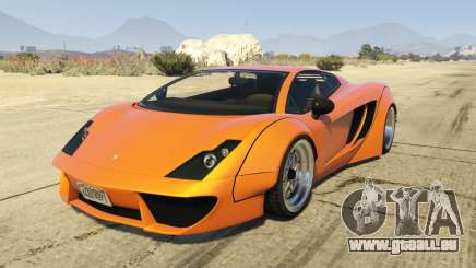 Pegassi Vacca RocketCow Widebody pour GTA 5