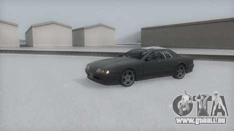 Elegy Winter IVF für GTA San Andreas rechten Ansicht