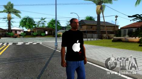 Apple T-shirt für GTA San Andreas zweiten Screenshot
