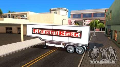 Box Trailer V2 pour GTA San Andreas vue intérieure