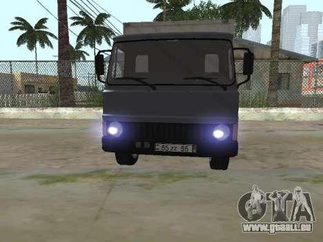 Zastava 640 Armenian pour GTA San Andreas vue de côté