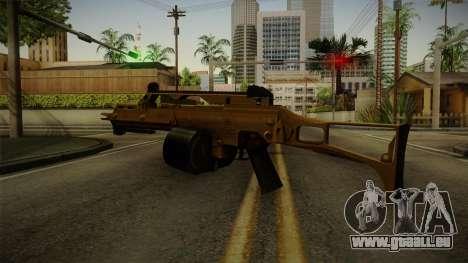 HK G36C v2 für GTA San Andreas dritten Screenshot