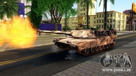 M1A1 Abrams COD4MW Remastered für GTA San Andreas