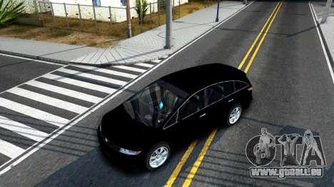 2010 Dinka Perennial Unmarked für GTA San Andreas Innenansicht