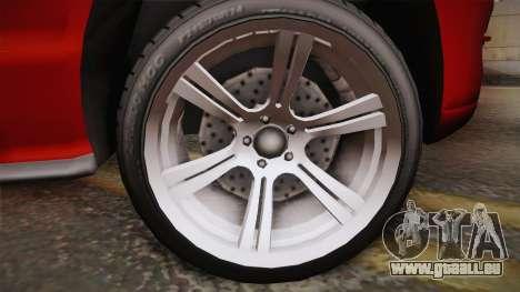 Ford Mustang 2005 für GTA San Andreas zurück linke Ansicht