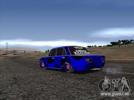 VAZ 2101 V. CHR. für GTA San Andreas zurück linke Ansicht