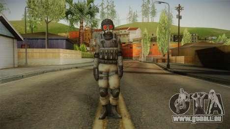 Resident Evil ORC - USS v1 pour GTA San Andreas deuxième écran