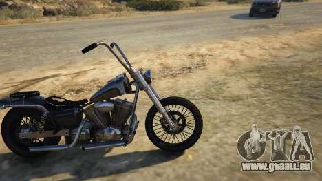 GTA 5 Daemon SOA Harley-Davidson linke Seitenansicht
