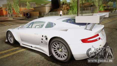 Aston Martin Racing DBR9 2005 v2.0.1 YCH für GTA San Andreas linke Ansicht
