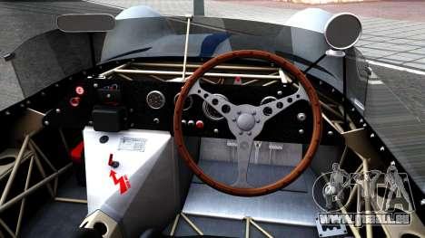 Maserati Tipo 61 pour GTA San Andreas vue intérieure