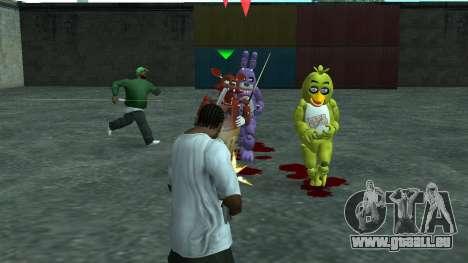Five Nights At Freddys für GTA San Andreas dritten Screenshot