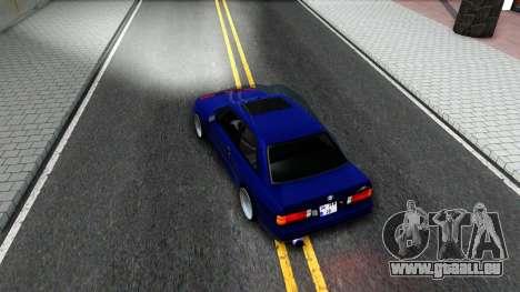 BMW E30 für GTA San Andreas Innenansicht