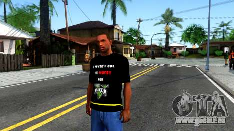 Love To Play San Andreas T-Shirt für GTA San Andreas