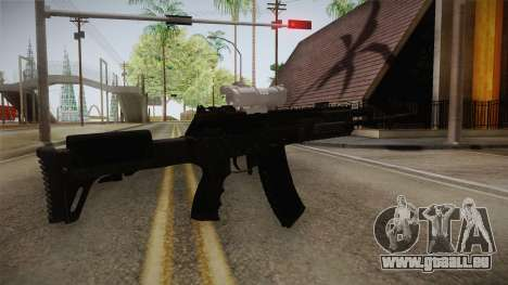 Call of Duty Ghosts - AK-12 with Scope pour GTA San Andreas troisième écran